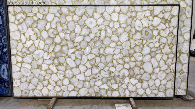 Gold Semi Precious Stone Slabs