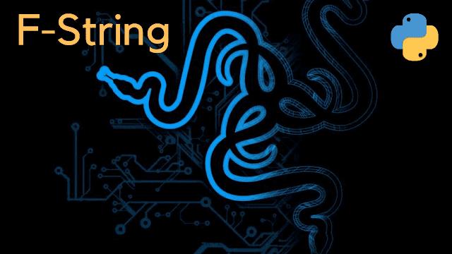 f-string in python logo