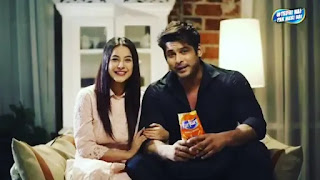 Sidharth Shukla And Shehnaaz Gill in 'Kurkure'Advertisment