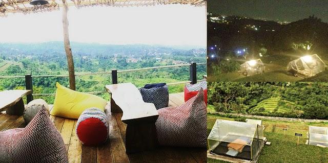 Menikmati Pemandangan Bandung dari Ketinggian di Lereng Anteng, Punclut