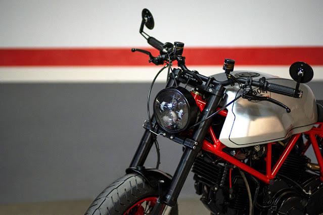 Ducati 750SS By Bolt Motor Co. Hell Kustom