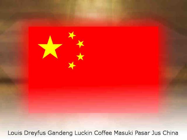Louis Dreyfus Gandeng Luckin Coffee Masuki Pasar Jus China