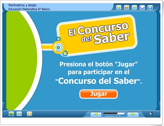 """El Concurso del Saber: """"Perímetros y Áreas"""" (Juego de Medidas)"""
