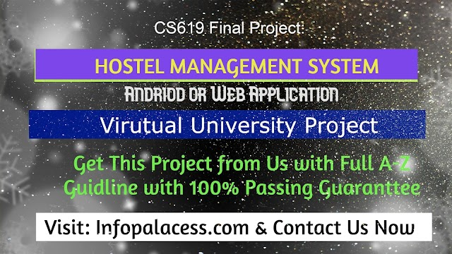 Hostel Management System Web or Android Application Final Project