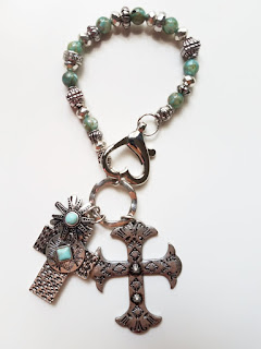 Celtic Cross Purse Charm, Charm for your purse, shoulder bag charm, backpack charm, ornament