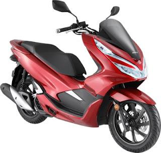 Harga Honda PCX Malaysia Warna Euphoria Red Metallic