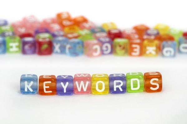 Where to use keywords