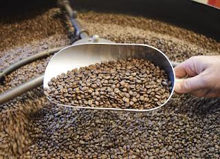 Rang gia công cà phê hạt giá tốt