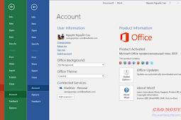 Microsofts Office 2019 – Hướng dẫn cài đặt full phiên bản trải nghiệm