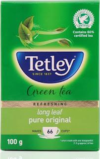 Tetley Long Leaf Pure Original Green Tea Box  (100 g)