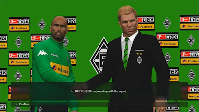 PES 2016 Borussia Mönchengladbach MPS Pack Postbank Edition by fifacana