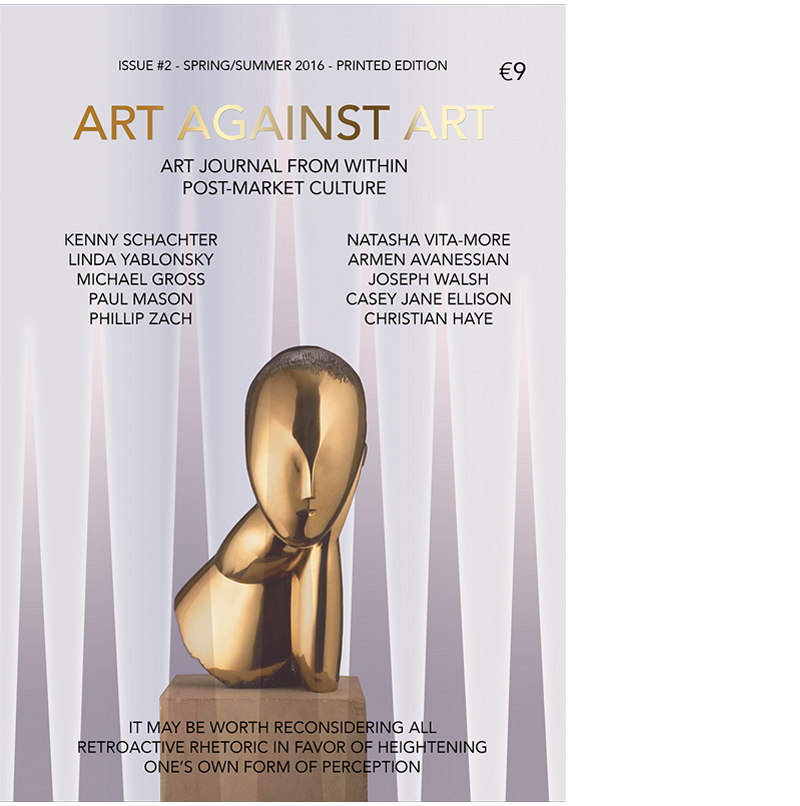 http://www.artagainstart.com/p/store.html#!/Issue-2-Spring-Summer-2016/p/66303265/category=0
