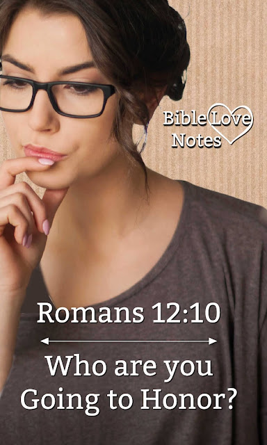 Romans 12:10 contains an important command but it's not very popular with modern culture.