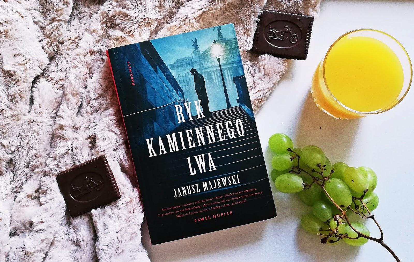"""Poznaj """"Ryk kamiennego lwa"""" Janusz Majewski"""
