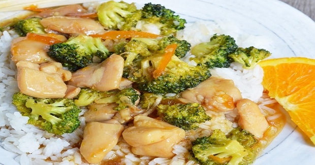 Orange Soy Chicken Broccoli Recipe