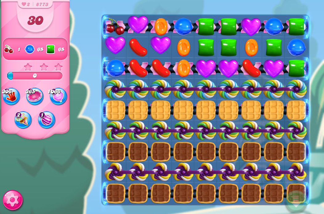 Candy Crush Saga level 8773