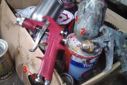 Mengenal Perbedaan Spray Gun F75 Dengan F100