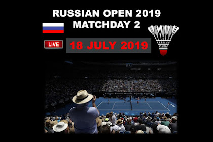 Live Badminton RUSSIAN OPEN 2019 Day 2