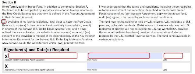 綠角財經筆記: 美國券商嘉信理財(Charles Schwab)開戶步驟詳解2(How to Apply for Schwab One International Account)---開戶文件 ...