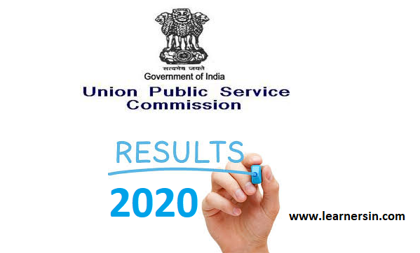 UPSC Civil Services Preliminary Exam Results 2020