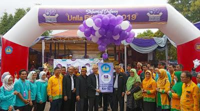 Unila FKIP Expo 2019 Resmi Dibuka