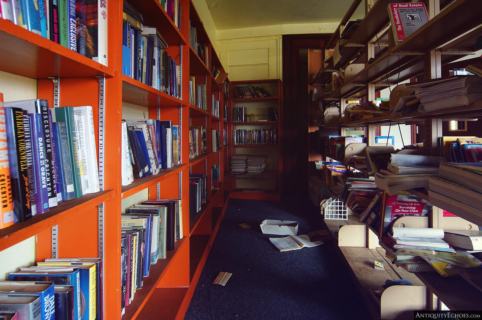 Third Presbyterian - Shelves of Books