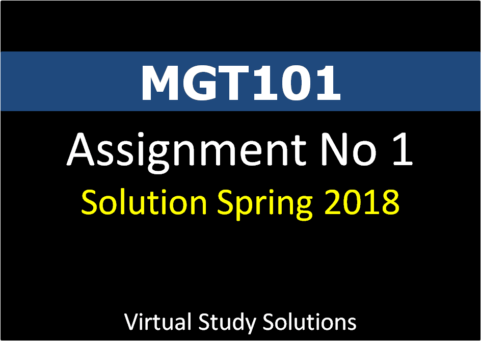 mgt101 financial accounting assignment 2 solution Virtual university desk virtual university of pakistan network  (accounting and finance related)  mgt101 financial account.