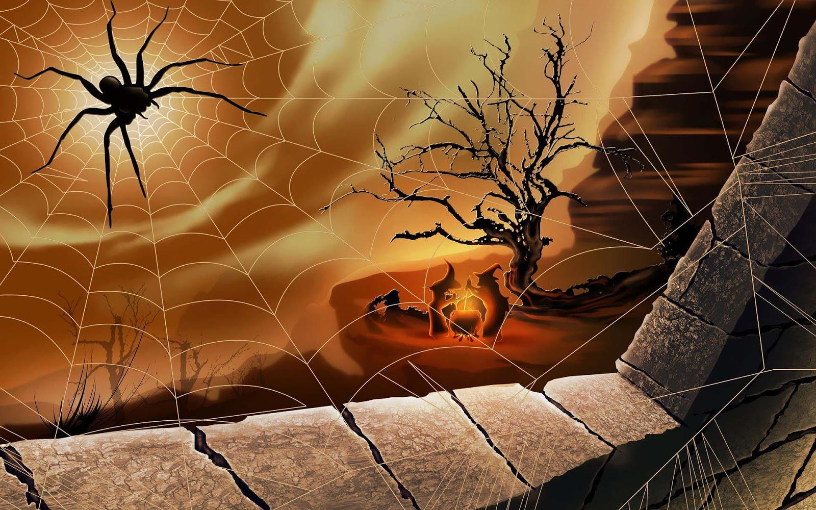 Halloween Achtergrond.Wallpaper 3d Halloween Wallpaper For Mac