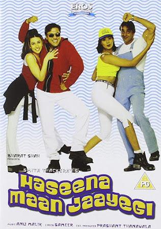 Poster Of Hindi Movie Haseena Maan Jaayegi 1999 Full HD Movie Free Download 720P Watch Online