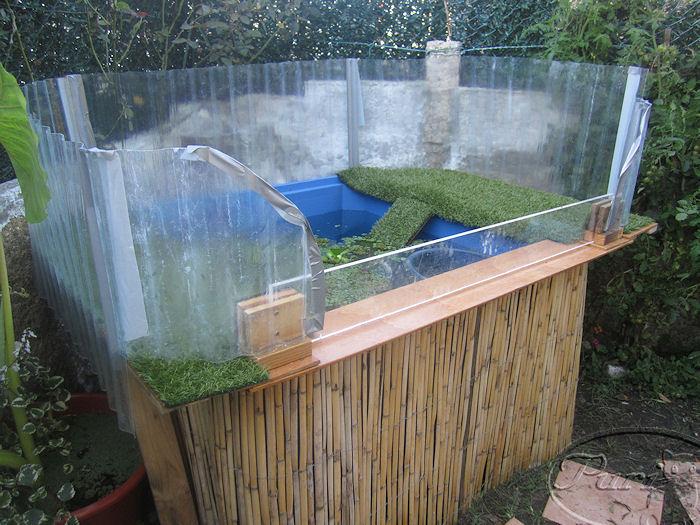 Mi jardin y mi huerto estanque de tortugas for Estanques de plastico para jardin
