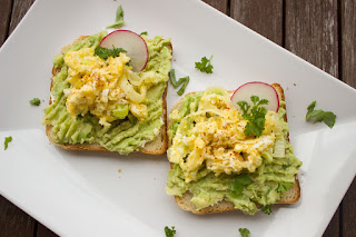 Avocado breakfast bread