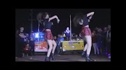 Two Chinese babes wearing short checkered skirt, performing outdoor [2:25]