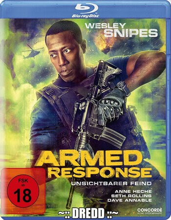 Armed Response (2017) Dual Audio Hindi 480p BluRay 300MB ESubs Movie Download