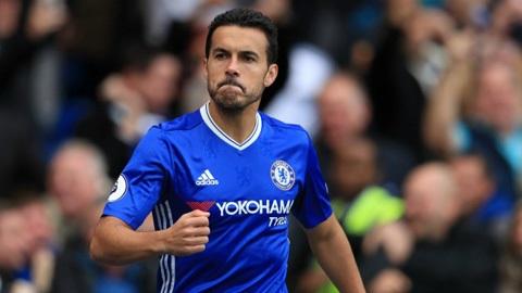 Pedro chuyển từ Barcelona sang Chelsea