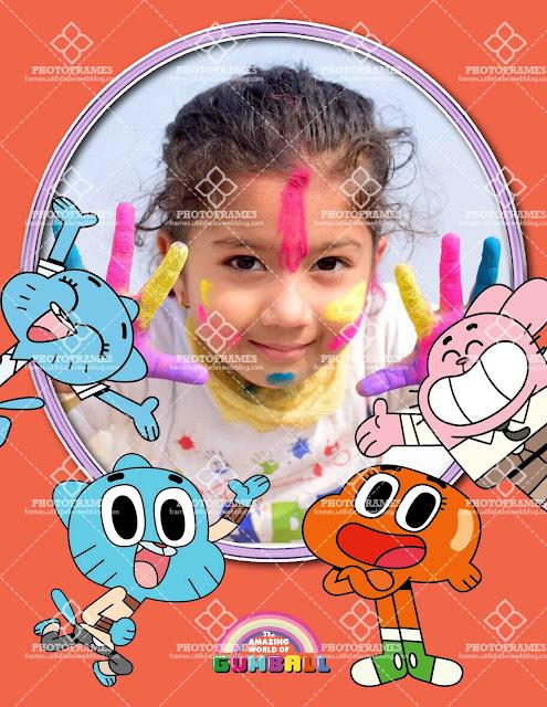 Marco para fotos infantiles de cumpleaños o cualquier otra ocasión especial