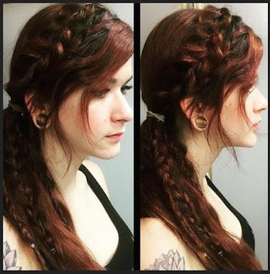 Weave Ponytail With Bangs Hairstyles Picture 2