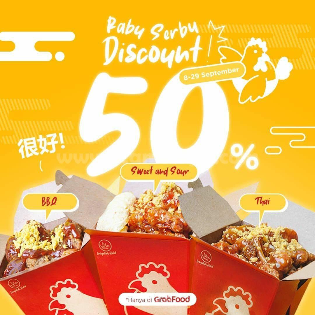 Chicken Pao Rabu Serbu Diskon 50%