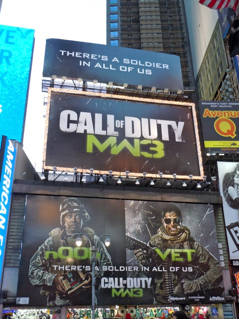 Call of Duty Noob Vet billboards