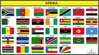 Bendera Negara Afrika