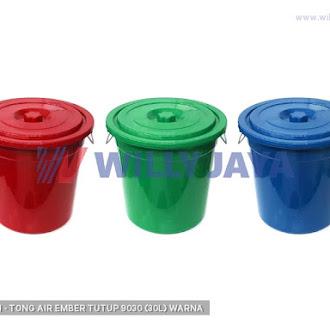 TWIN PAN - TONG AIR/ EMBER TUTUP 9030 (30L) WARNA
