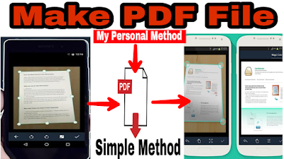 How to Make PDF File