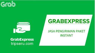 Order Grab Express, disuruh jalan saja, barang tidak di bawa
