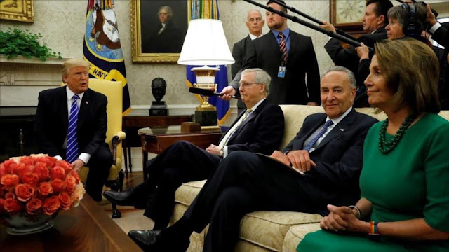 """Trump y demócratas negocian para proteger a los """"dreamers"""""""