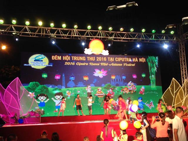 Đêm trung thu 2016 tại Ciputra Hà Nội