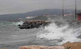 حالة الطقس في بعض الولايات التركية