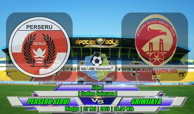 Prediksi Perseru Serui vs Sriwijaya FC 27 Mei 2018