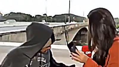 Δημοσιογράφος έπεσε θύμα ληστείας σε ζωντανή μετάδοση