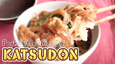 Katsudon Pork Cutlet Rice Bowl