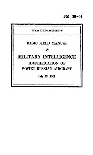 Basic Field Manual, Military Intelligence, Identification Of Soviet-Russian Aircraft