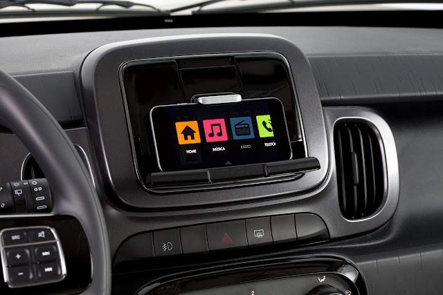 Novo Fiat Mobi 2017 - Sistema Live On